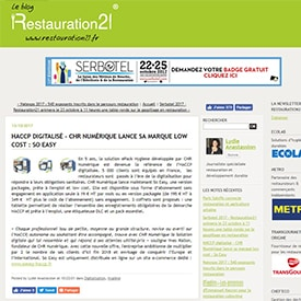 Article Restauration21 sur SO EASY